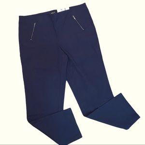 NWT PLUS Michel Studio Slim Leg Reg Dress Pants